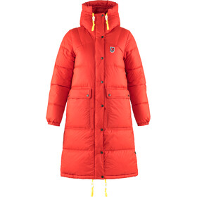 Fjällräven Expedition Pack Parka Plumas Larga Mujer, true red